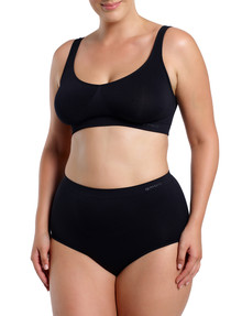 Ambra Curvesque Full Brief, Black product photo