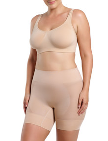 Ambra Curvesque Anti Chafing Short, Rose Beige product photo