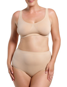 Ambra Curvesque Full Brief, Rose Beige product photo