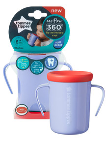 Tommee Tippee Easiflow 360 Cup, 200ml, Purple product photo