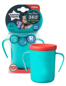 Tommee Tippee Easiflow 360 Cup, 200ml, Teal product photo
