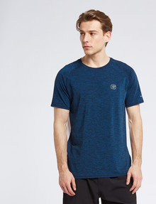 Gym Equipment Speedmax Two-Tone Tee, Navy & White product photo