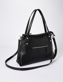 Boston & Bailey Sue Riveted Shoulder Bag, Black product photo