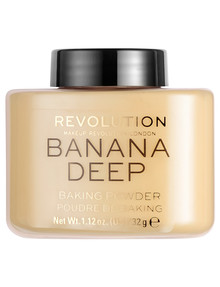 Makeup Revolution Loose Baking Powder Banana (Deep) product photo