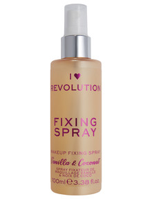 I Heart Revolution Fixing Spray Vanilla Bean & Coconut product photo