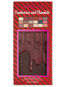 I Heart Revolution Cranberries & Chocolate Palette product photo