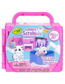 Crayola Crayola Scribble Scrubbies Beauty Salon Set product photo