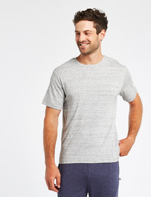 Mazzoni Loungewear Soft-Touch Cotton-Modal Top, Grey Marle product photo