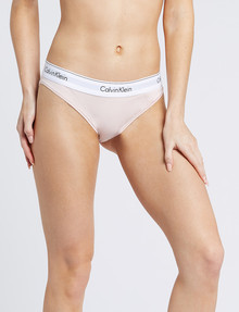 Calvin Klein Modern Cotton Bikini Brief, Nymphs Thigh product photo