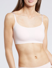 Calvin Klein Invisibles LL Retro Bralette, Nymphs Thigh, XS-XL product photo