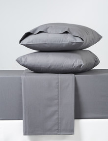 Haven Home 225 Thread-Count Cotton-Rich Sheet Set, Charcoal product photo