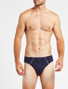 Jockey Cotton Brief 4-Pack, Assorted Blue product photo