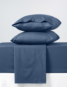 Haven Home 225 Thread-Count Cotton-Rich Sheet Set, Navy product photo