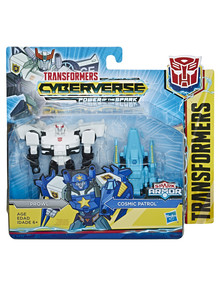 Transformers Cyberverse Spark Armor Battle Figure - Assorted product photo