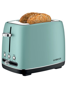 Kambrook Perfect 2 Slice Toaster Icy Green, KTA270IGN product photo