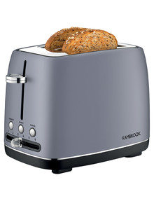 Kambrook Perfect 2 Slice Toaster Blue Grey, KTA270BGY product photo