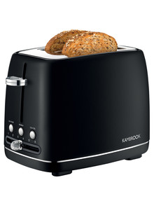 Kambrook Perfect 2 Slice Toaster Matte Black, KTA270MTB product photo