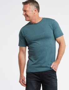 Chisel Ultimate Crew Tee, Teal Marle product photo