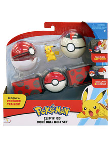 Pokemon Clip N Go Ball Belt - Assorted product photo
