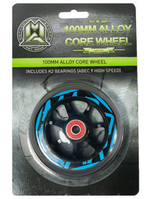 MADD 100mm Aero Core Wheel, Blue product photo