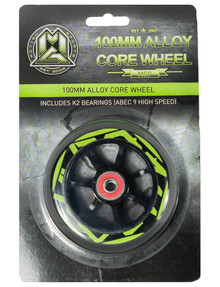 MADD 100mm Aero Core Wheel, Green product photo
