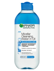 Garnier Micellar Water in Oil Delicate Skin & Eyes product photo