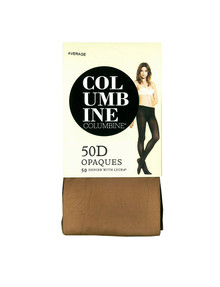 Columbine COLU Tight Soft Opaque 50D Golden Tan product photo