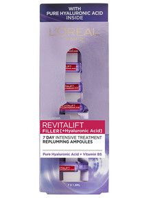 L'Oreal Paris Revitalift Filler [+Hyaluronic Acid] Ampoules product photo