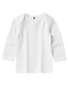 Superfit Baby Merino-Blend Long-Sleeve Top, Vanilla product photo