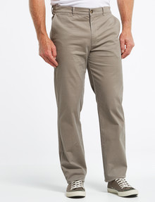 Chisel Classic Chino Pant, Taupe product photo