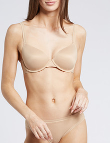 Calvin Klein Liquid Touch Lightly Lined Bra, Bare, A-E Cup product photo