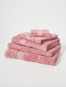 Linen House Linen House Newport Towel Range, Pink Rose product photo