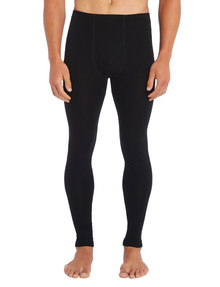Superfit Merino Long John Pant, Black product photo