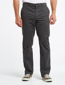 Chisel Classic Chino Pant, Charcoal product photo