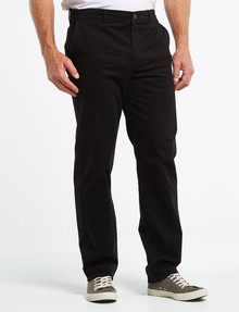 Chisel Classic Chino Pant, Black product photo