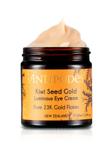 Antipodes Kiwi Seed Gold Luminous Eye Cream 30ml product photo