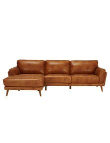 LUCA Hendrix II 2.5 Seater Sofa with Left-Hand Chaise, Cognac product photo
