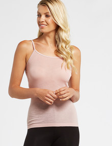 Lyric Thermals Melody Merino Cami, Peony product photo