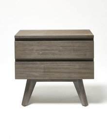 Luca Panama 2-Drawer Bedside Table product photo