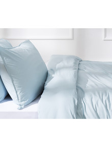 Haven Home 250 Thread Count Vintage Wash Duvet Cover Set, Duckegg product photo