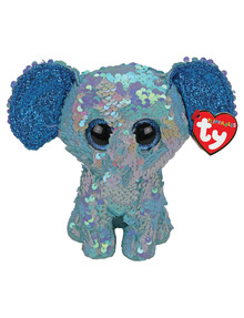 Ty Beanies Sequin Flippable Elephant product photo