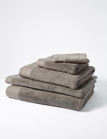Sheridan Luxury Retreat Towel Range, Smoke product photo