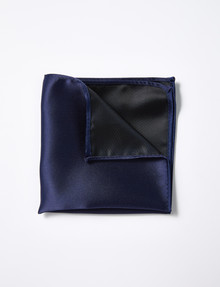 Laidlaw + Leeds Pocket Square, Navy product photo