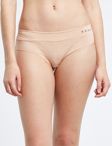 Bonds Comfytails Midi Brief, Base Blush Marle product photo