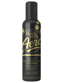 Bondi Sands Aero Tanning Foam Liquid Gold product photo