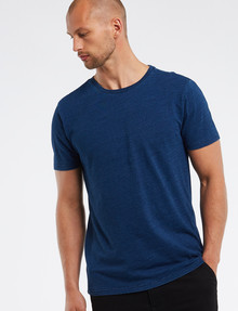 Tarnish Indigo-Dyed Tee, Blue product photo