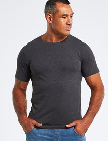 Chisel Ultimate Crew Tee, Charcoal Marle product photo