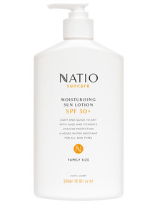 Natio SPF50 Moisturising Sun Lotion 500ml product photo