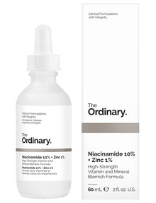 The Ordinary Niacinamide 10% + Zinc 1%, 60ml product photo