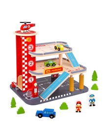 Tooky Toy Wooden Parking Structure product photo